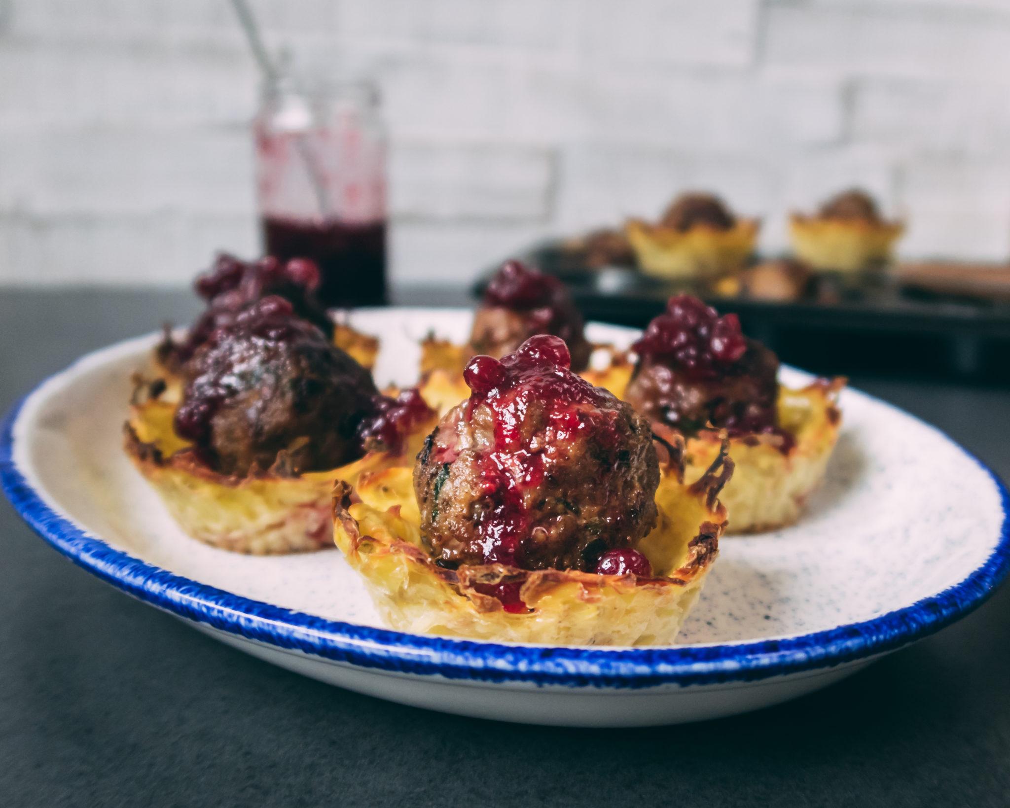 Köttbullar-Muffins: Snack mit schwedischem Flair