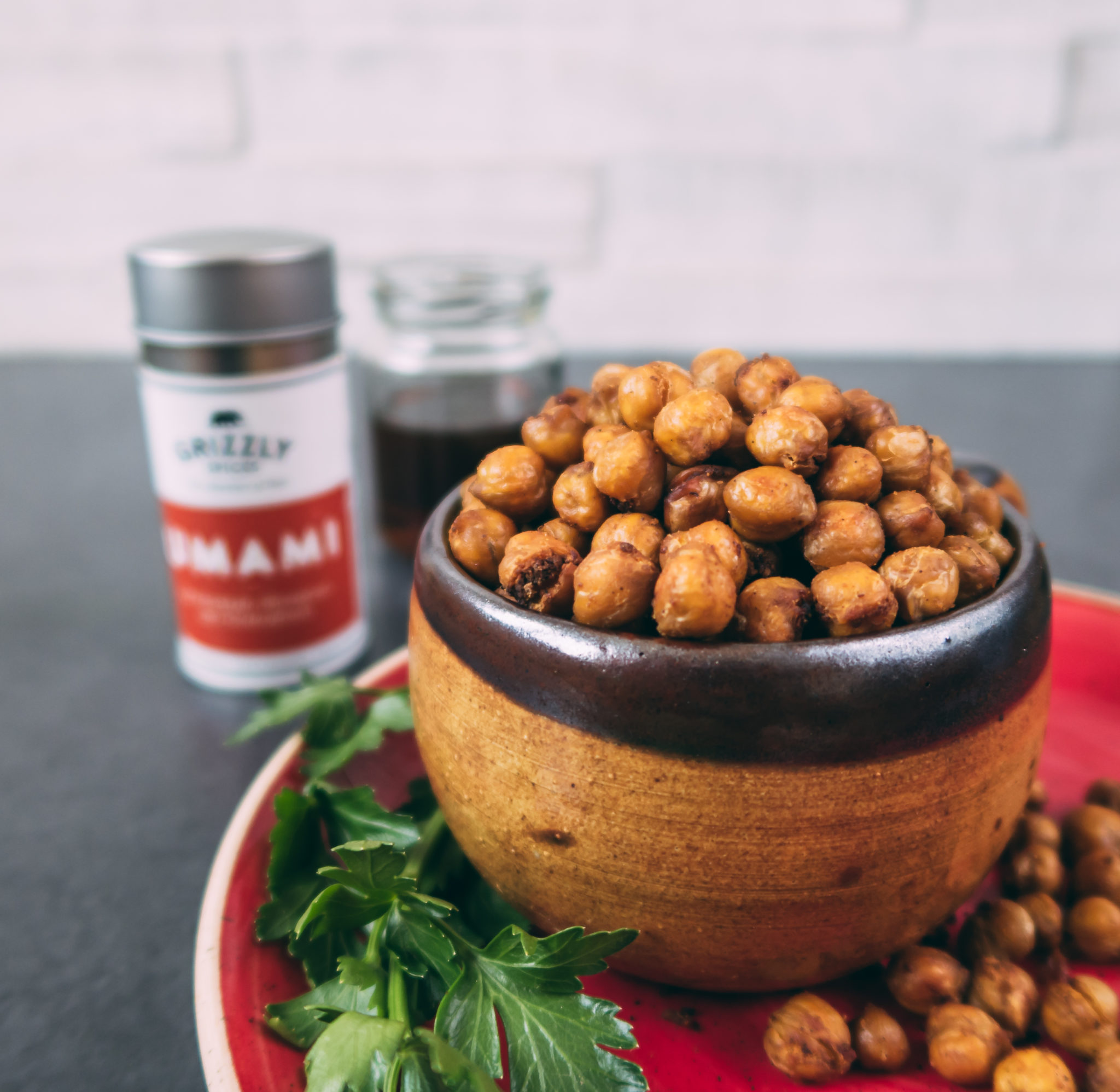 Kichererbsen mit UMAMI – die gesunde Alternative zu Chips